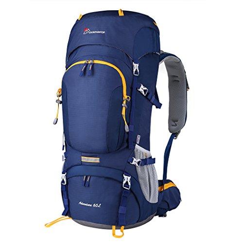 Mountaintop 60+5L Erwachsene Trekkingrucksäck Rucksack, 76 x 36 x 26 cm